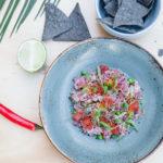 Tuna Ceviche SoCal